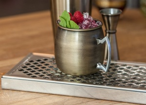 Stainless Steel Cocktail Thimble Bar Drip Tray